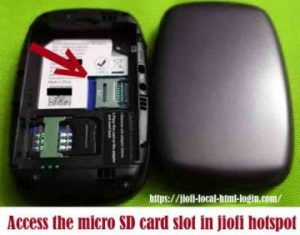 HOW TO USE MICRO SD CARD OR MEMORY CARD IN JIOFI